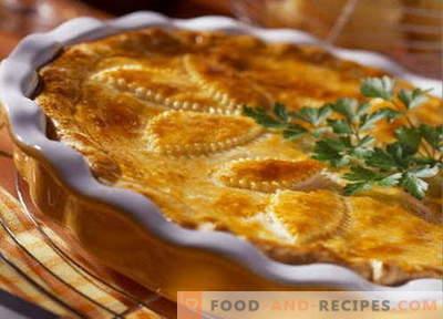 Kartoffelauflauf - die besten Rezepte. Wie man richtig und lecker Kartoffelauflauf kocht.
