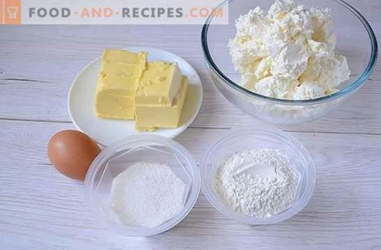 Hüttenkäse-Bagels aus 4 Zutaten - alles Geniale ist einfach! Schritt für Schritt Autorenrezept bröckelige Bagels mit Hüttenkäse