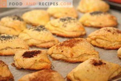 Hüttenkäseplätzchen sind die besten Rezepte. Wie man richtig und lecker Kekse aus Hüttenkäse kocht.