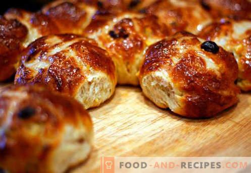 Süße Brötchen sind die besten Rezepte. Wie man richtig und lecker süße Brötchen zu Hause kocht