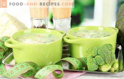 7 Tage Suppe zum Abnehmen - der Effekt wird sein! Wöchentliche Suppenrezepte zum Abnehmen: mit Zwiebeln, Tomaten, Sellerie, Kohl