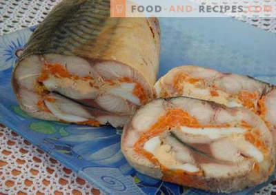 Roll makreli - najlepsze przepisy. Jak prawidłowo i smacznie gotować makrelę.