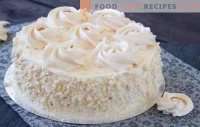 Baisertorte zu Hause - ein unglaublich leckeres Dessert! Die besten Rezepte für hausgemachte Baiser-Torte