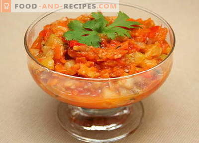 Zucchini Lecho - the best recipes. How to properly and tasty cook lecho from zucchini.