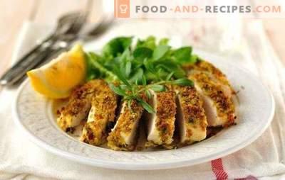 Hühnerbrust in einem langsamen Kocher gedämpft - kein Aufwand! Gedünstetes Hühnerbrustrezept in einem langsamen Kocher mit Gemüse, Pilzen, Beilagen