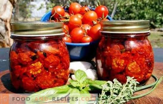 Getrocknete Tomaten für den Winter - das Beste! Einfache und kostengünstige Lagerhaltung von getrockneten Tomaten für den Winter