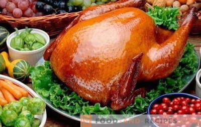 Gebackenes Hühnchen - die besten Rezepte. Wie gebackenes Hähnchen kochen?