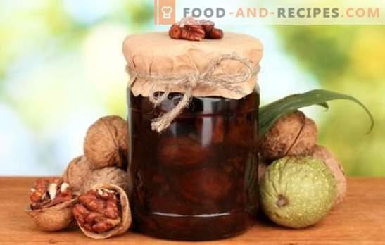 Marmelade aus Kalk ohne Walnüsse ist eine leckere und gesunde Köstlichkeit. Wie kann man aus Walnüssen ohne Kalk verschiedene Marmeladearten herstellen?