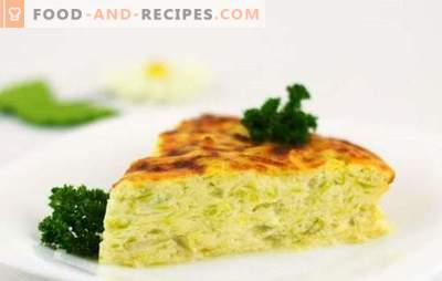 Zucchini-Auflauf in einem langsamen Kocher - ein Sommermenü! Rezepte verschiedener Zucchini-Aufläufe im Slow Cooker