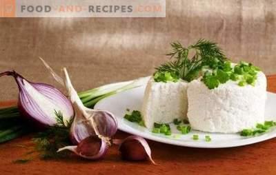 Ziegenquark ist ein gesundes Produkt. Welche Gerichte können mit Ziegenkäse zubereitet werden?