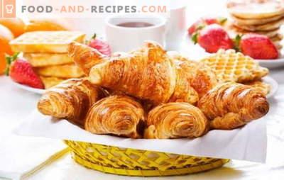 Croissants aus dem fertigen Teig - knuspriges Gebäck ohne Hektik. Die besten Rezepte für Croissants aus dem fertigen Teig: süß oder salzig