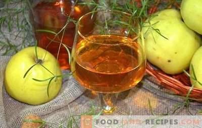 Apfelwein zu Hause ist nicht einfach, aber sehr einfach! Rezepte für die Zubereitung köstlichen Weins aus Äpfeln zu Hause