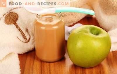 Apfelmus für Kinder: richtig und schmackhaft kochen. Rezepte für Apfelpüree für Babys