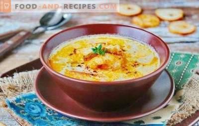 Dorschsuppe ist ein duftender erster Gang. Wie man eine köstliche Dorschsuppe zubereitet: Rezepte mit Käse, Reis, Mais, Sahne, Speck