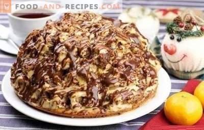 Der Curly Pincher Cake ist interessant und lecker! Rezepte Schokolade, Nuss, Obstkuchen