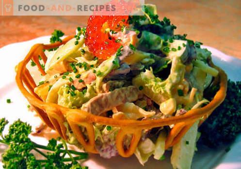 Salade russe - les meilleures recettes. Comment cuire correctement et savoureux salade russe