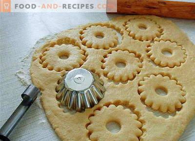 Mürbeteig - die besten Rezepte. Wie man richtig und lecker den Mürbeteig zubereitet.