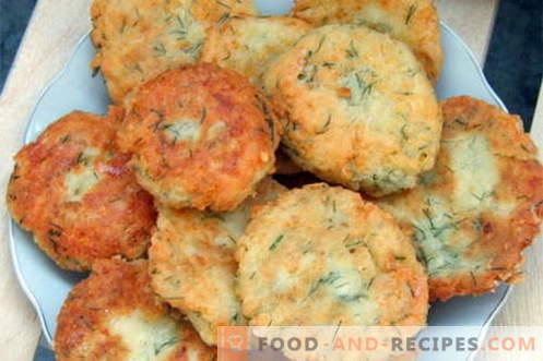 Käsekuchen - die besten Rezepte. Wie man Käsekuchen richtig und lecker kocht.