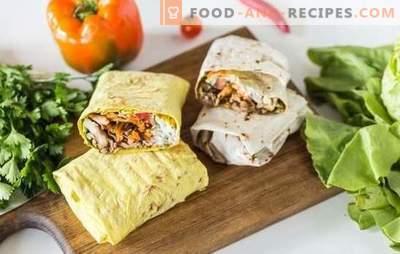 Shawarma mit Hackfleisch: Rezepte Schritt für Schritt, Geheimnisse zum Kochen. Wie man leckeres Shawarma mit Hackfleisch