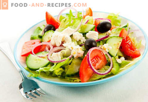Kalorienarme Salate - wie man sie richtig und lecker kocht