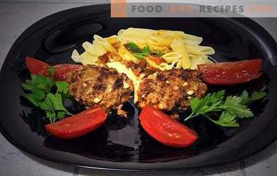 Cooking delicious chops with buckwheat and egg (photo recipe). Cutlets with buckwheat and egg - we recommend! Step-by-step recipe with photos