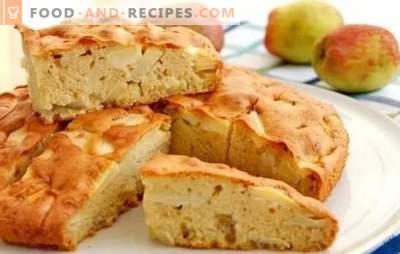 Charlotte im Ofen: ein Schritt für Schritt Rezept für den Apfelkuchen selbst! Garen Sie klassische und andere Charlotten im Ofen