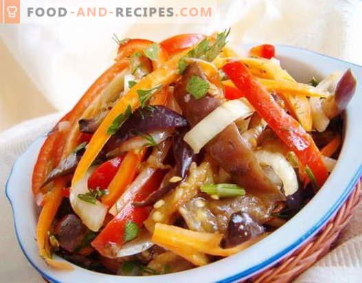 Koreanische Salate - die besten Rezepte. Wie man koreanische Salate zubereitet und lecker schmeckt.
