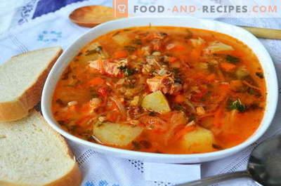 Kharcho-Suppe - die besten Rezepte. Wie man richtig und lecker kocht Suppe Kharcho.