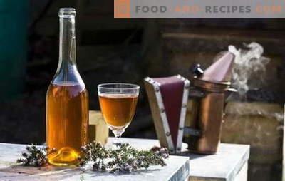 Rezepte Met zu Hause. Mead at home: wichtige Punkte und Nuancen bei der Herstellung dieses Getränks
