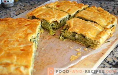 Pie mit Kohl in Eile - so schnell! Rezepte für Pasteten mit Kohl in Eile aus Aspik, Blätterteig, Mürbeteig