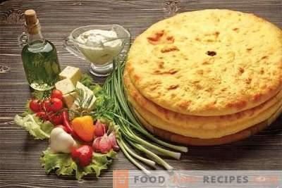 Ossetische Pasteten - die besten Rezepte. Wie man richtig und lecker kocht ossetische Torten.