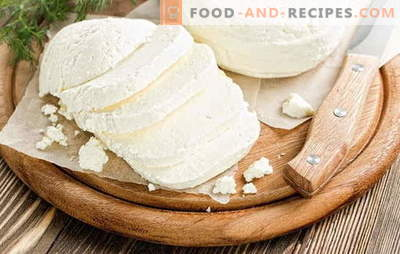 Adyghe-Käse zu Hause: lecker unter jedem Namen! Rezepte für hausgemachten Adygei-Käse