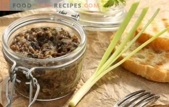 Wie wird Kaviar aus Honigpilz gekocht, um ihn lecker zu machen? Die besten Rezepte und Methoden zum Garen von Kaviar aus Honig
