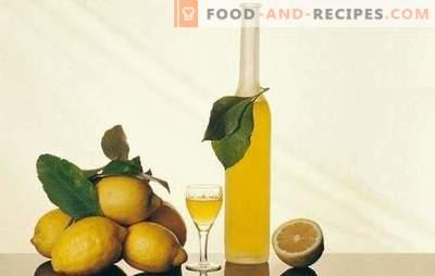 Zitronentinktur und Geheimnisse ihrer Zubereitung. Zitrone Tinktur Rezepte für eine hausgemachte Bar mit einem erfrischenden Zitrusduft