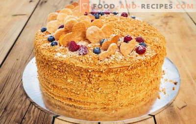 Medovik-Rezept für zu Hause, für diejenigen, die es müde sind, Kuchen zu lagern. Zu Hause Honig kochen für einzigartige Rezepte