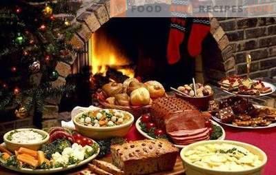 Was traditionell auf Weihnachten vorbereitet ist