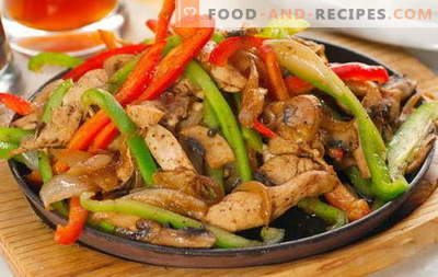 Hühnerfrikassee - die besten Rezepte. Wie man richtig und lecker Frikassee vom Huhn kocht.