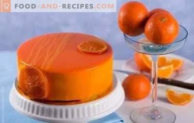 Mit Genuss kochen: Schoko-Orangenkuchen. Rezepte einfache und komplexe Orangenkuchen mit Schokolade und ohne