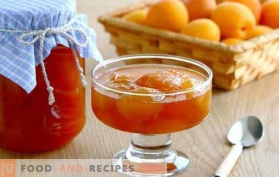 Wie man Marmelade aus entkernten Aprikosen herstellt: Jeder hat seine eigenen Geheimnisse. Verschiedene Arten von Marmelade zu gekochten Aprikosen