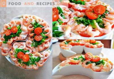 Neptunsalat - die besten Rezepte. Wie man richtig und lecker den Salat