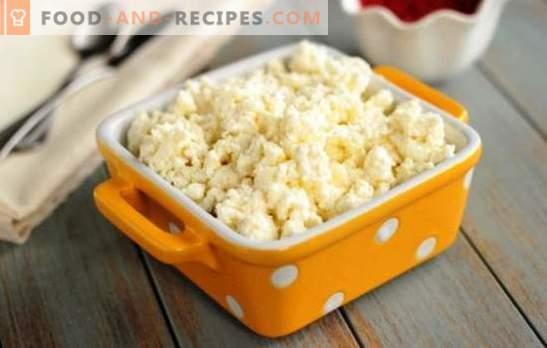 Garen Sie zarten Hüttenkäse in einem langsamen Kocher aus Sauermilch. Wie man aus Milch Hüttenkäse in einem Langsamkocher herstellt, Rezepte damit
