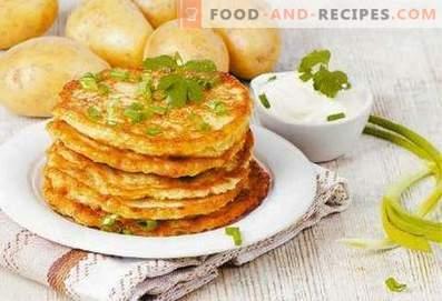 Belarussische Kartoffelpuffer