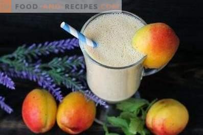 Aprikosen-Smoothies