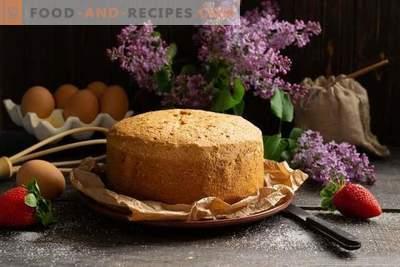 Lebkuchen Kuchen - fällt nie!