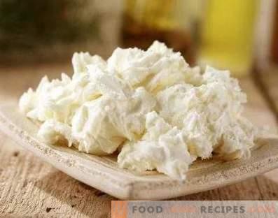 Mascarpone-Käse zu Hause