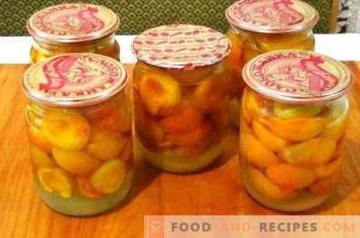 Aprikosen im eigenen Saft für den Winter