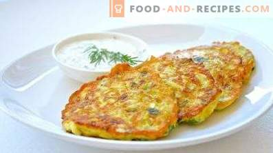 Zucchini und Kartoffelpfannkuchen