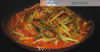 Bärlauch in Tomaten