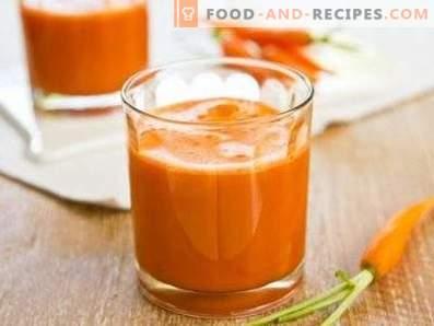 Karotten-Smoothies