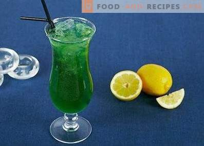Green Fairy Cocktail